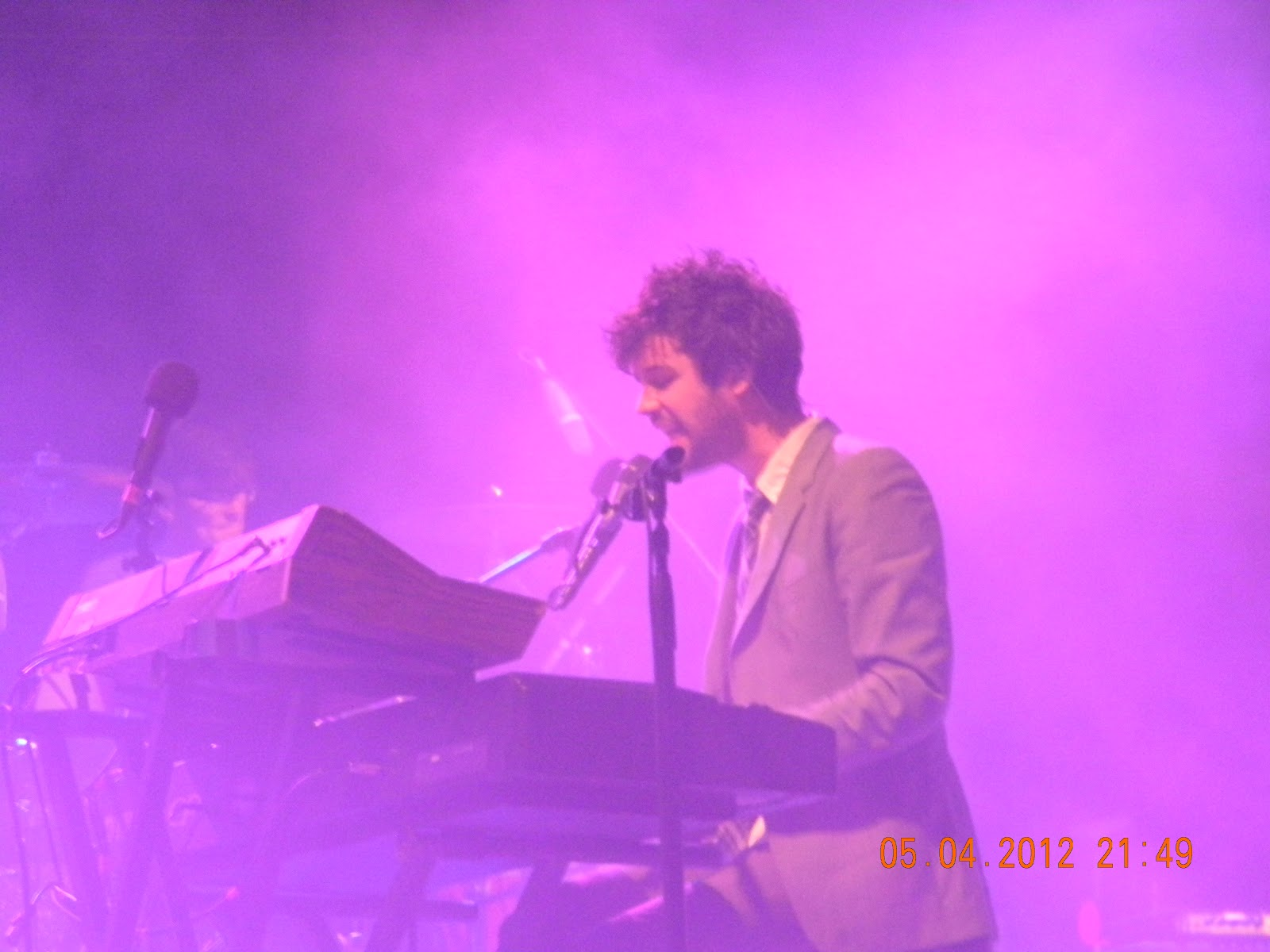 picture from that first concert: And second concert: