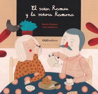 """Otro nuevo libro """"El señor Ramón y la señora Ramona"""" de 2 a  7 años,"""