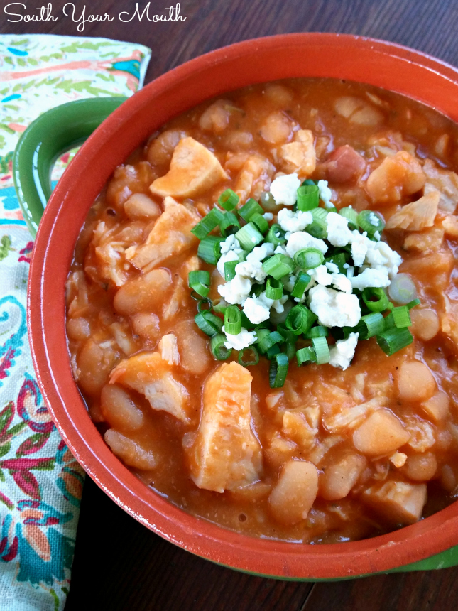 South Your Mouth: Buffalo Chicken Chili