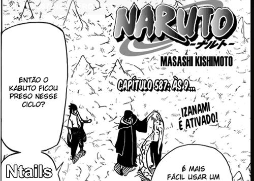 Naruto  Mangá 587 - ás 9