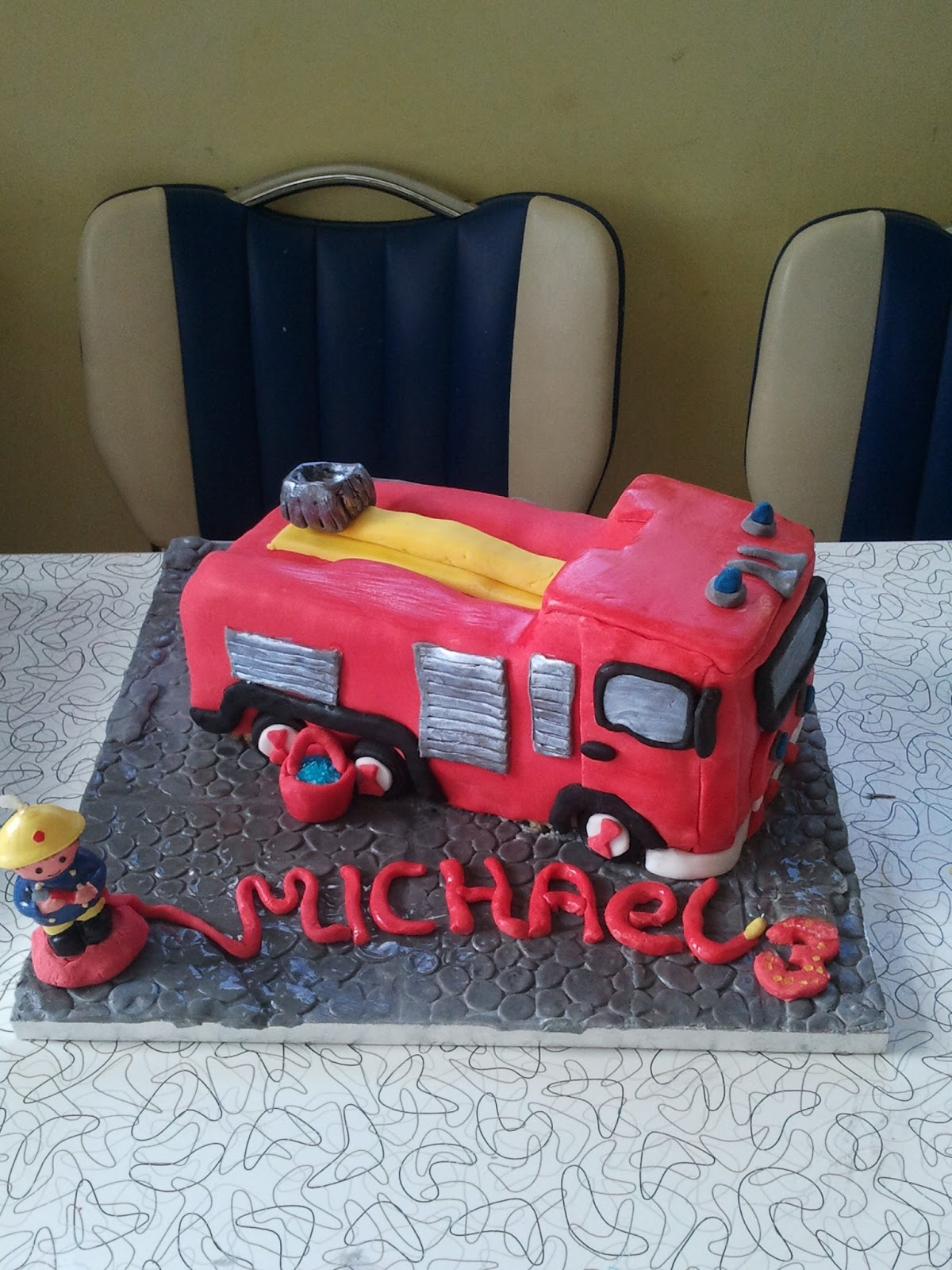 Fireman Sam Cake Sainsbury S