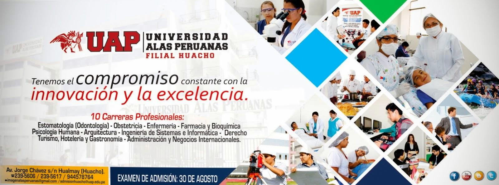 Universidad alas peruanas filial huacho convocatoria de for Plazas docentes 2016