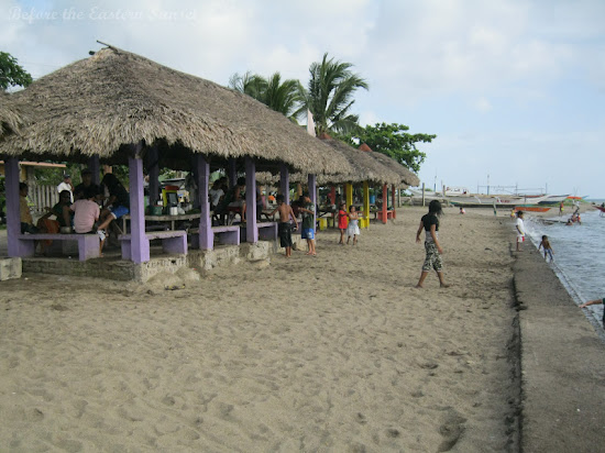 Cottages of Sabang Beach Resort in Bulan, Bicolandia