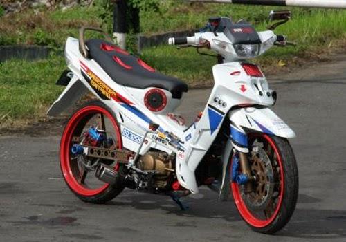 Contoh Modifikasi Yamaha New Vega R