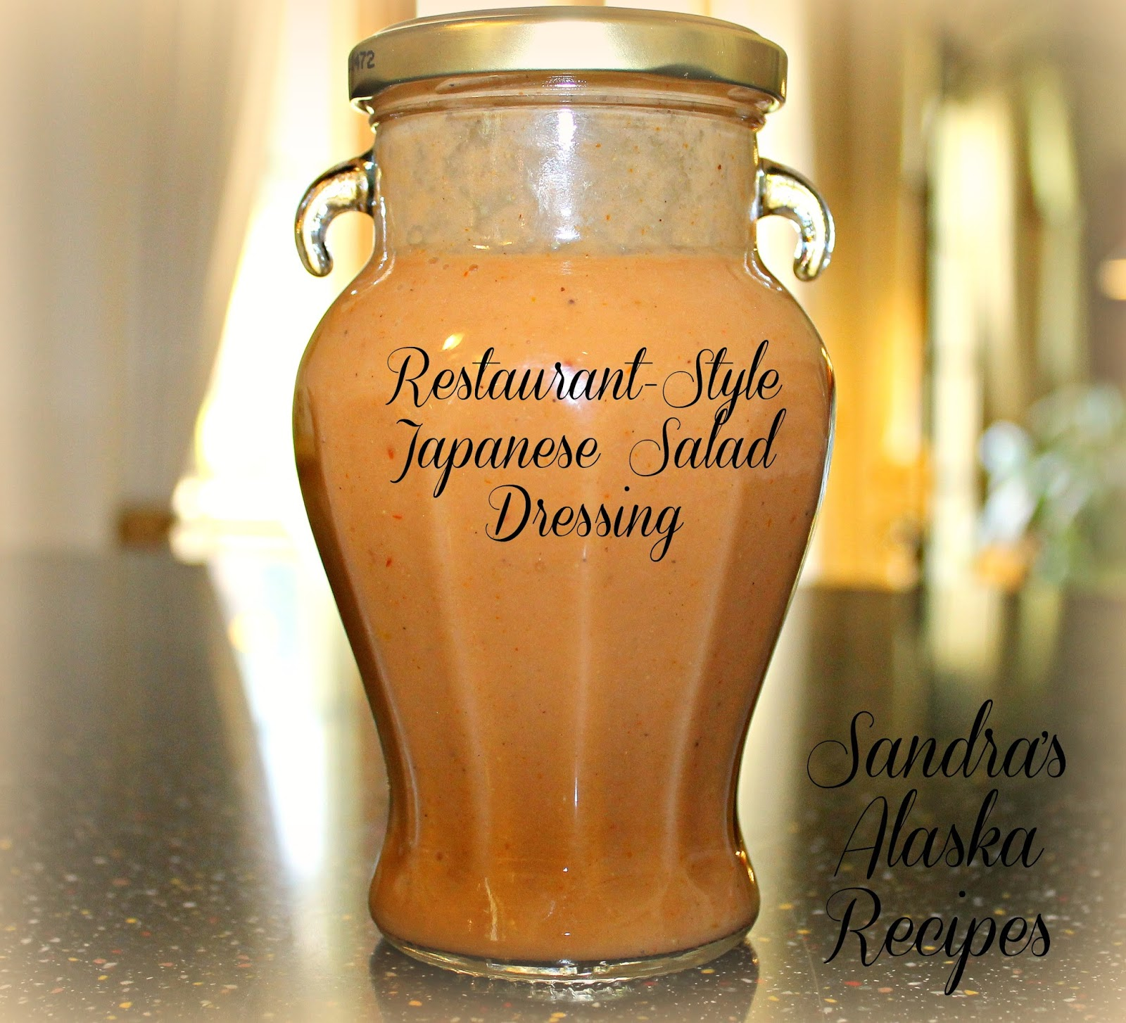 ... Alaska Recipes: SANDRA'S JAPANESE RESTAURANT-STYLE SALAD and DRESSING