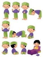 mengajarkan anak shalat, membimbing dan mendidik shalat,shalat sejak dini,tata cara shalat