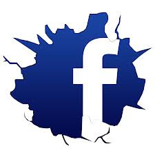 Facebook Cracked Logo