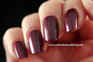 Maquillage Blvd nail polish swatches vibrant thing
