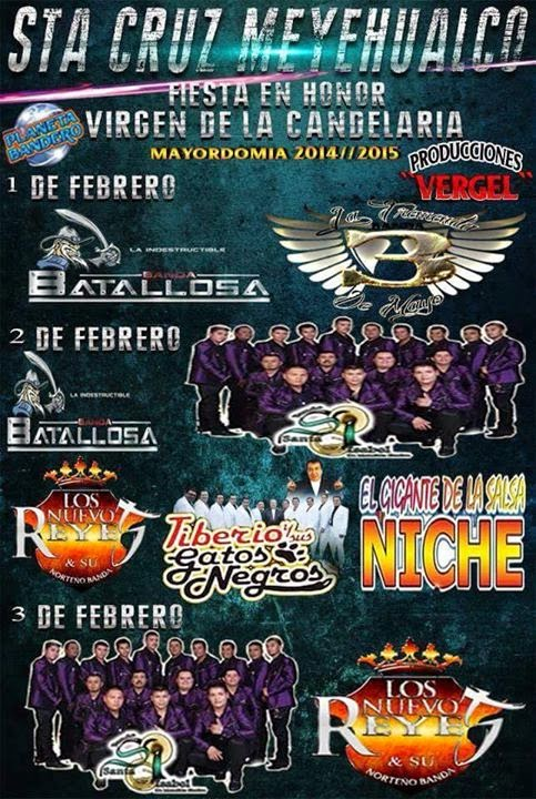 bailes fiesta santa cruz meyehualco 2015