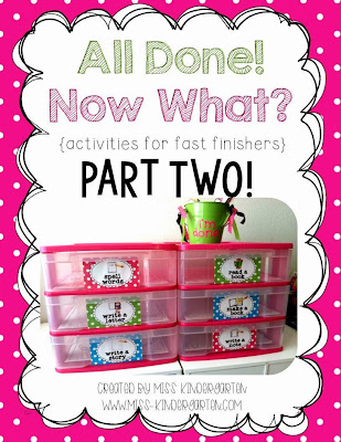 http://www.teacherspayteachers.com/Product/All-Done-Now-What-activities-for-fast-finishers-Part-Two-1014469