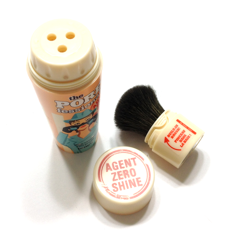 Benefit POREfessional and POREfessional Agent Zero Shine