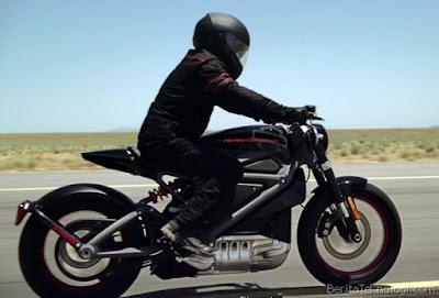 Harley Davidson Livewire Bertenaga Listrik