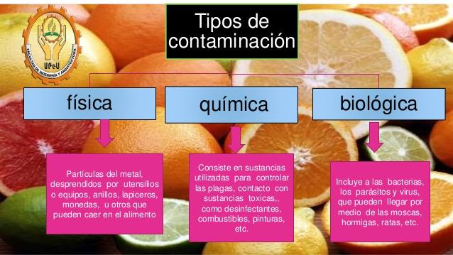 Aventura ecologica la contaminaci n de los alimentos - Fuentes de contaminacion de los alimentos ...