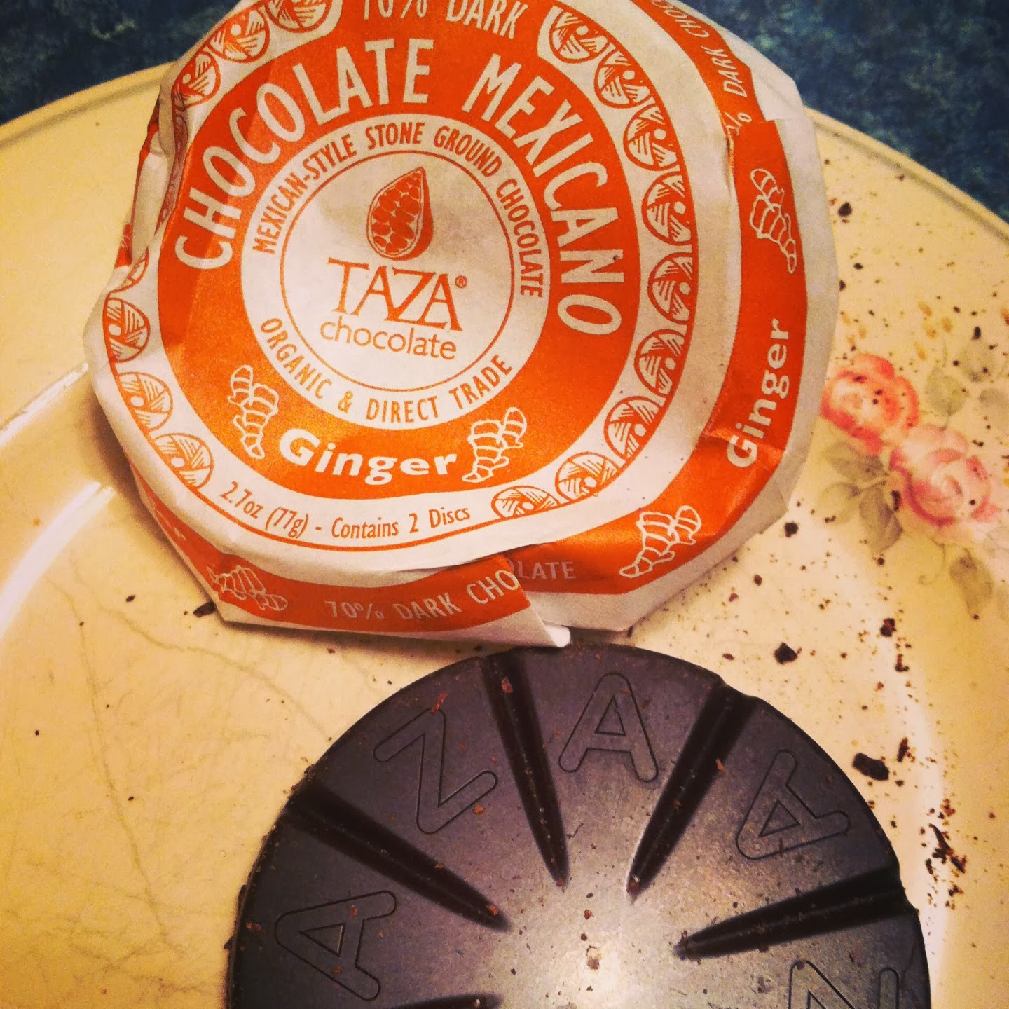 Taza Chocolate Mexicano with Ginger, another tasty one sampled in Cooking Chat post.