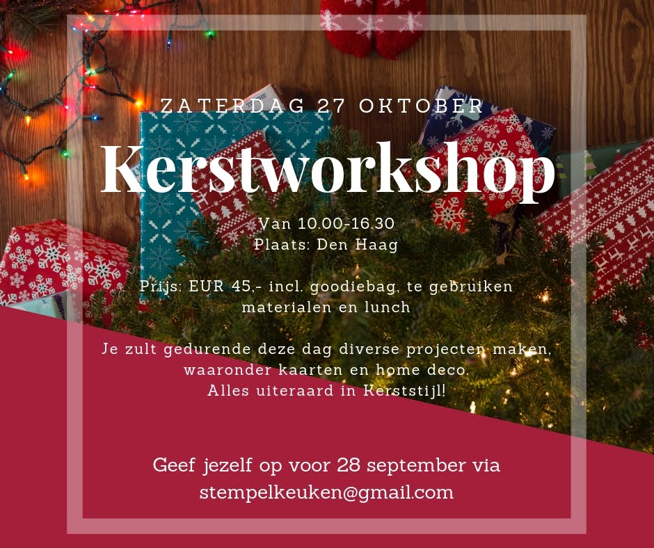 Kerst Workshopdag 2018