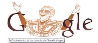 Doodle Chavela Vargas.