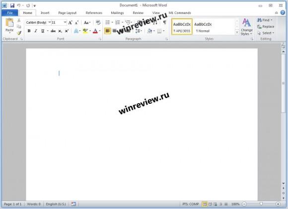 Microsoft Office 20120