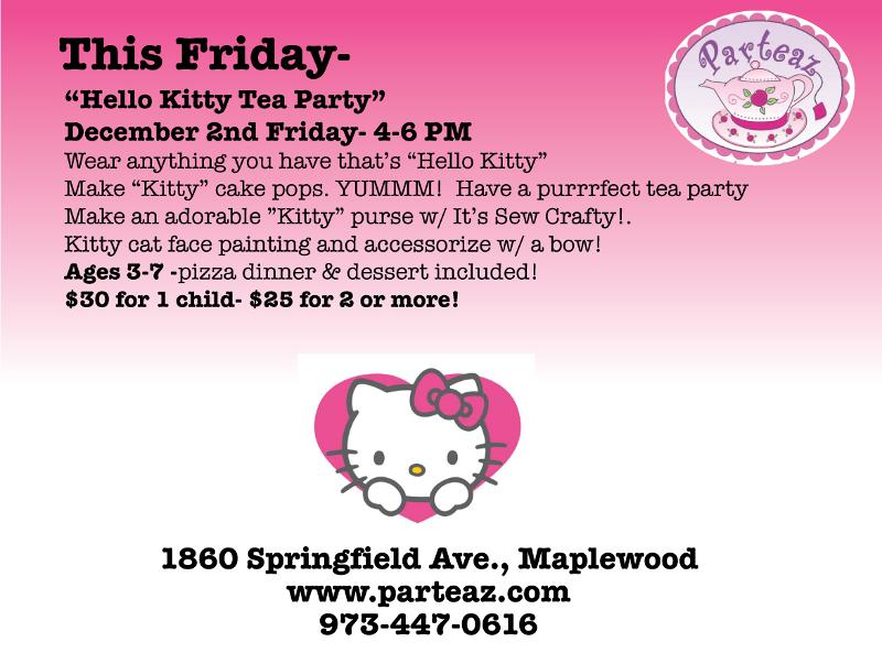 Hello Kitty Party In Maplewood