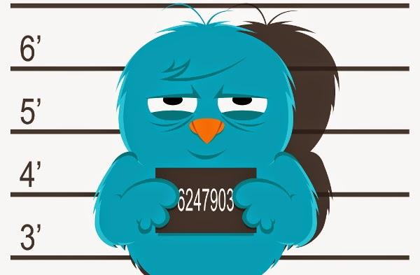 twitter ismine hapis cezası