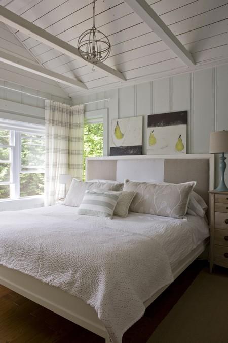 new home interior design white cottages