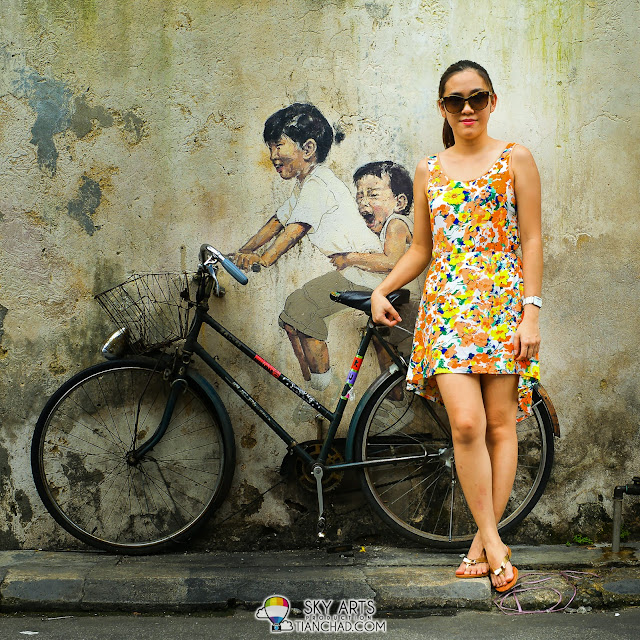 Penang Food Trip + Coach Fall Season 2013 Footwear Collection Photoshoot