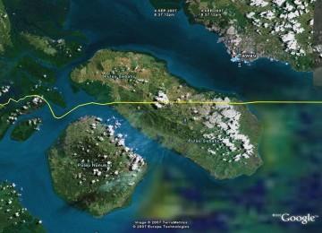 Pulau Sebatik - Perbatasan Indonesia Malaysia