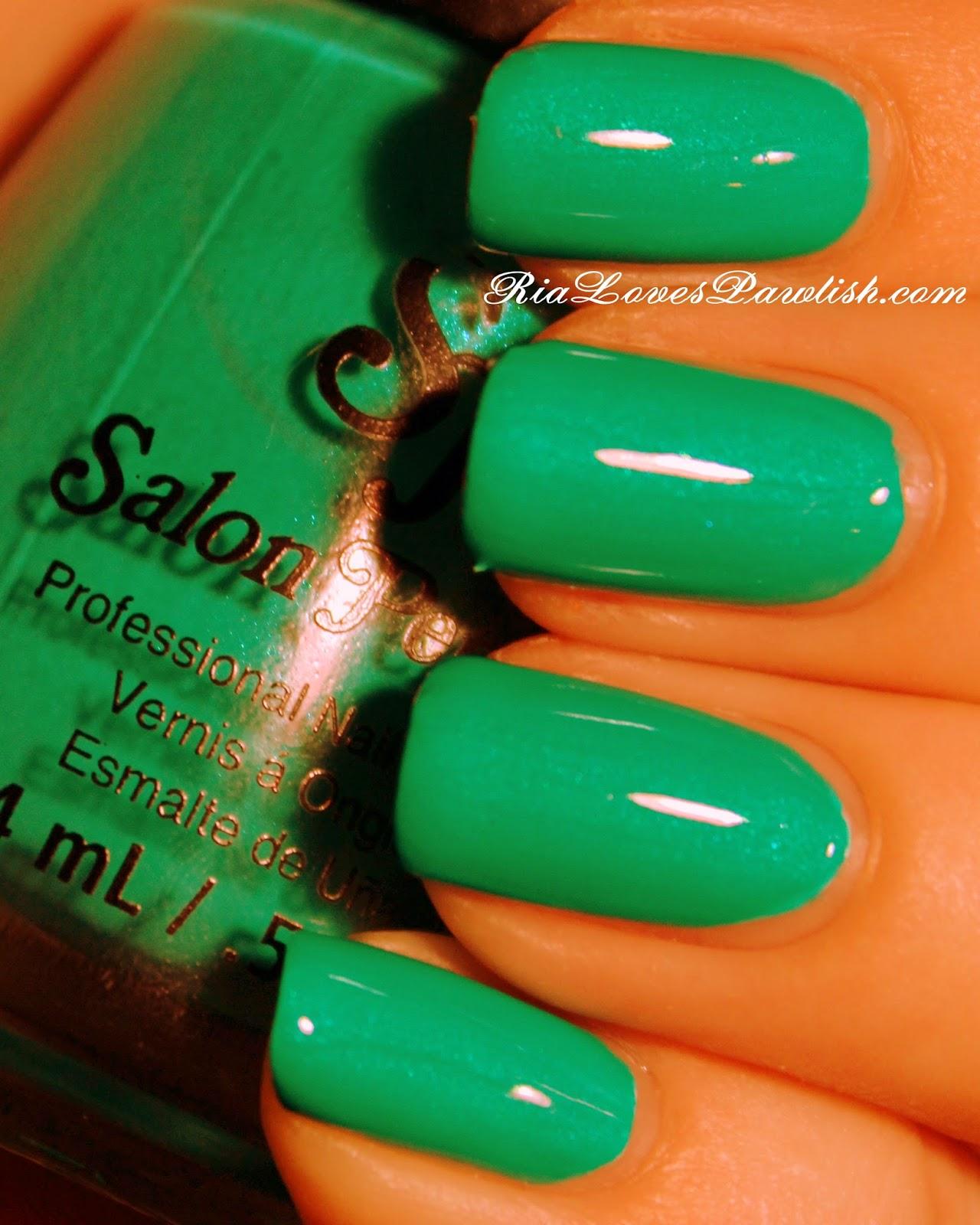 Ria Loves Pawlish: Salon Perfect Neon POP... Gone Sailing