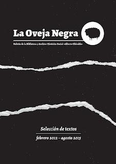 Libro: Boletín La Oveja Negra Selección de textos febrero 2012 - agosto 2015
