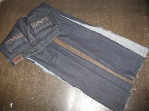 мастер-класс, ушиваем джинсы, шитье,