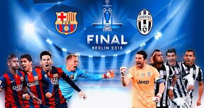 Juventus vs Barcelona Final Liga Champions 2015
