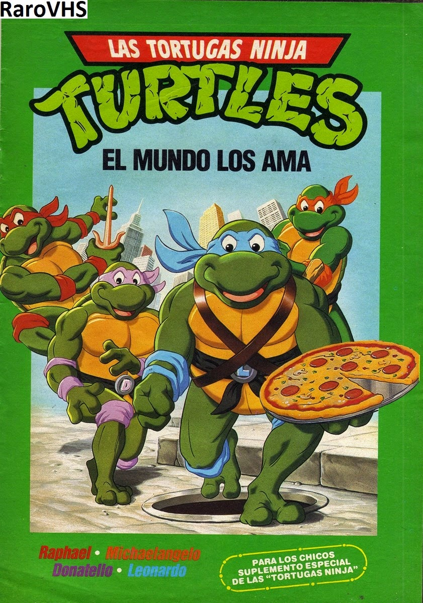 teenage mutant ninja turtles vhs