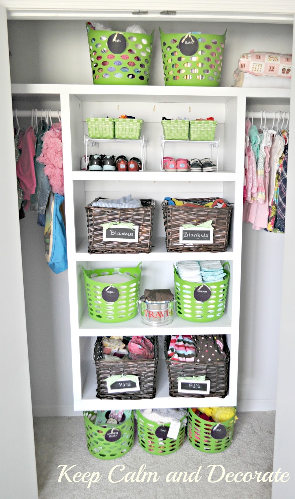 Keep Calm And Decorate Organizing A Toddler 39 S Closet