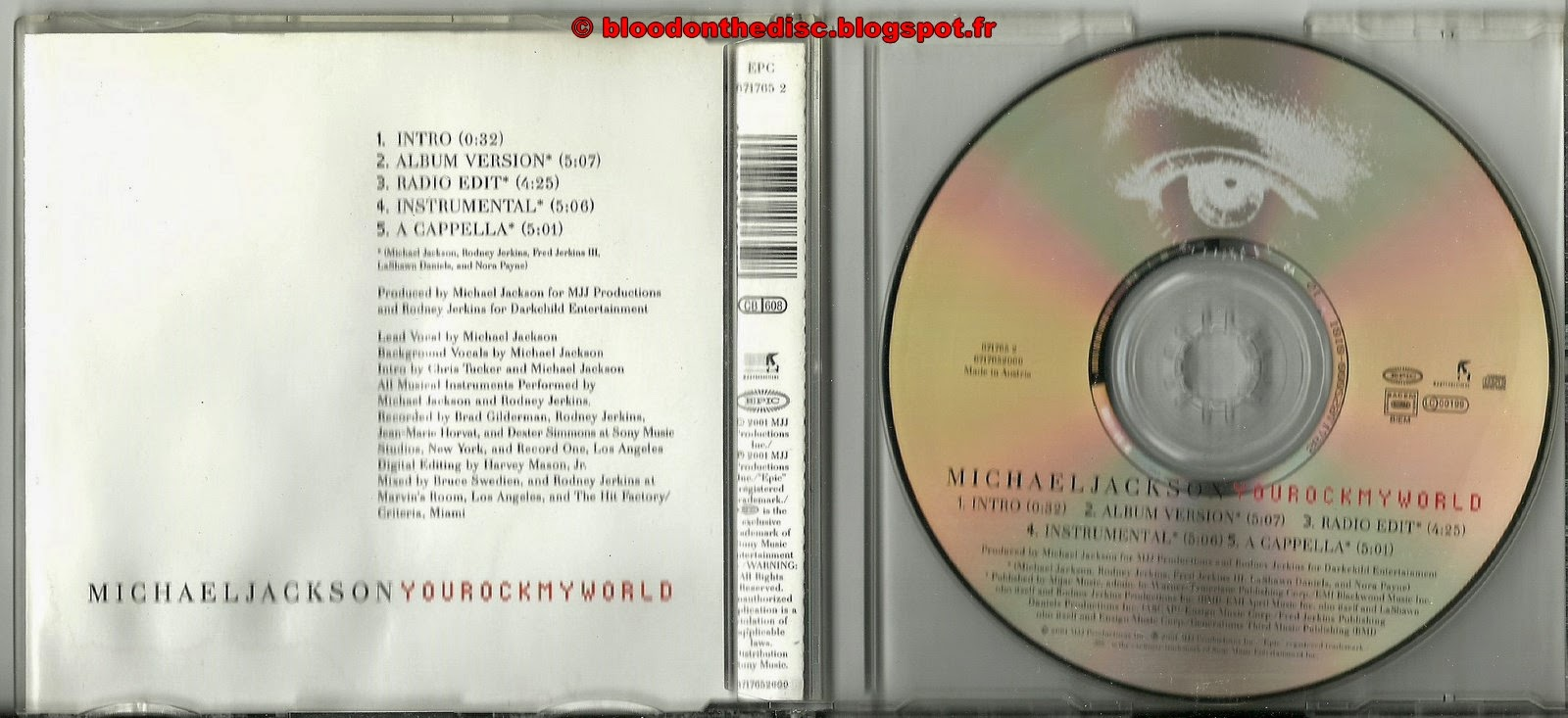 You Rock My World Maxi CD
