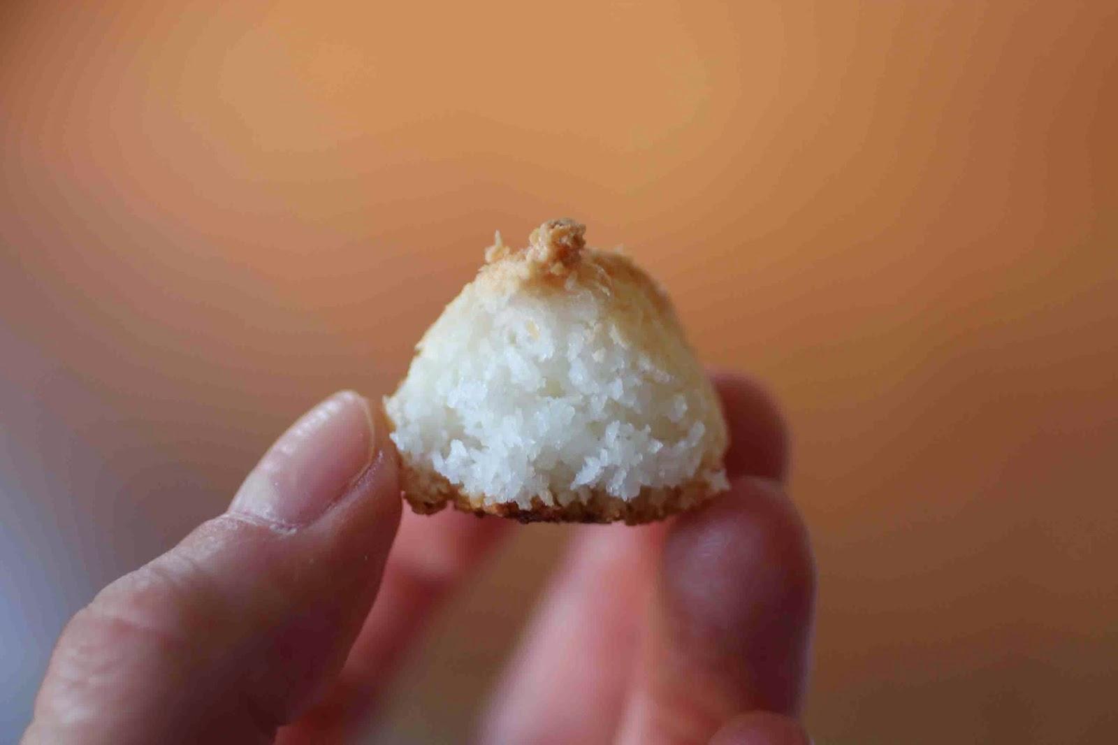 Petits rochers à la noix de coco