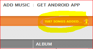 Adding songs to Google Music Beta