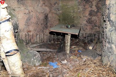 Место отдыха в немецком бункере