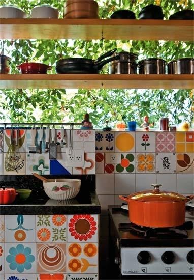Bohemian Chic Kitchen