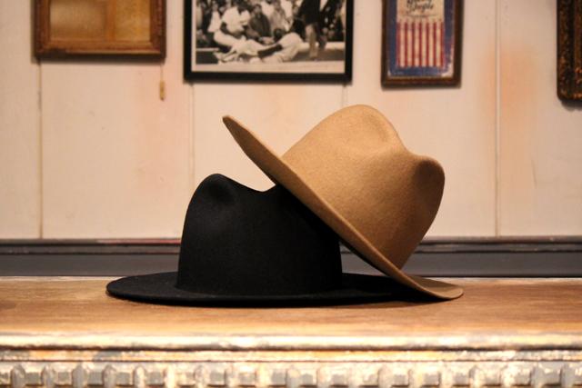 Nisus Hotel Wool Hat  Black & Brown  size S, M, L,  18,360yen