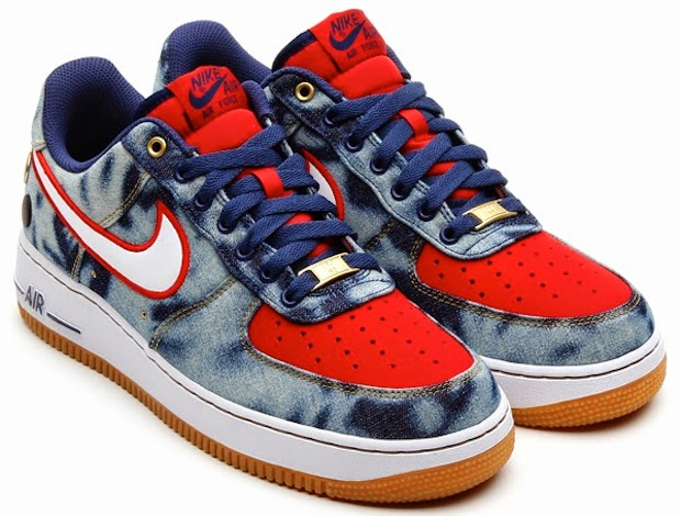 Nike Air Force 1 DENIM @TiendaFitzrovia!