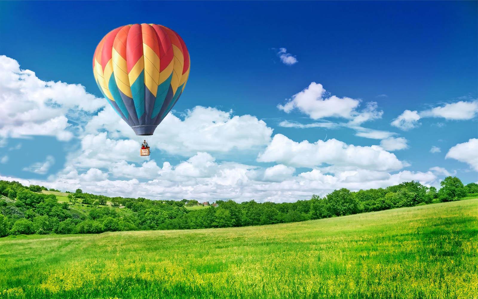 Gambar gambar balon udara yang cantik wallpaper