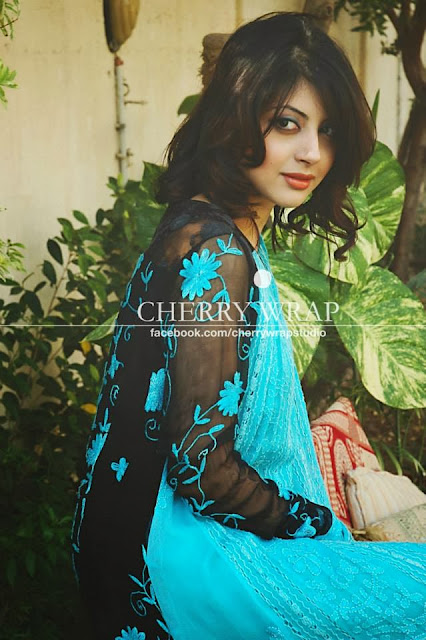 Cherry Wrap Winter Party Wear Dresses Collection 2013-14 For Women & Girls