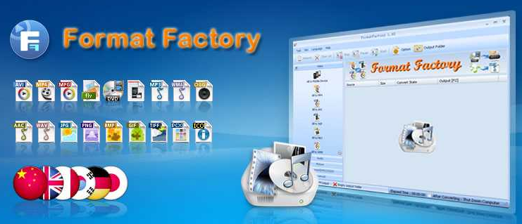 Format Factory V3.3.4.0 Free Download