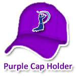 IPL 6 Purple Cap Holder