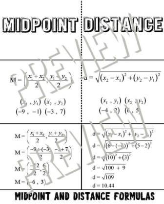 mathworksheetsland answer key distance formula 11 5 the distance formula answer key page. Black Bedroom Furniture Sets. Home Design Ideas