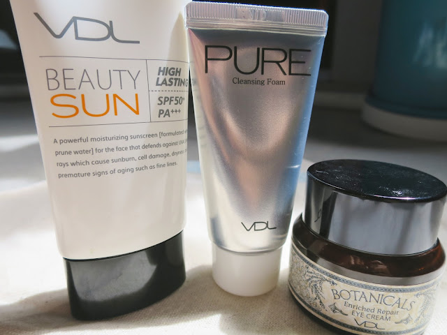 VDL Skincare, Beauty Sun, Pure Cleansing Foam, Naked Cleansing Foam, Botanicals Eye Cream