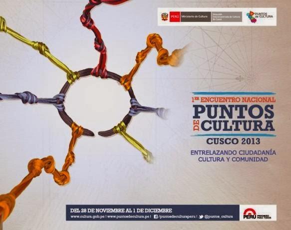 1er ENCUENTRO NACIONAL DE PUNTOS DE CULTURA