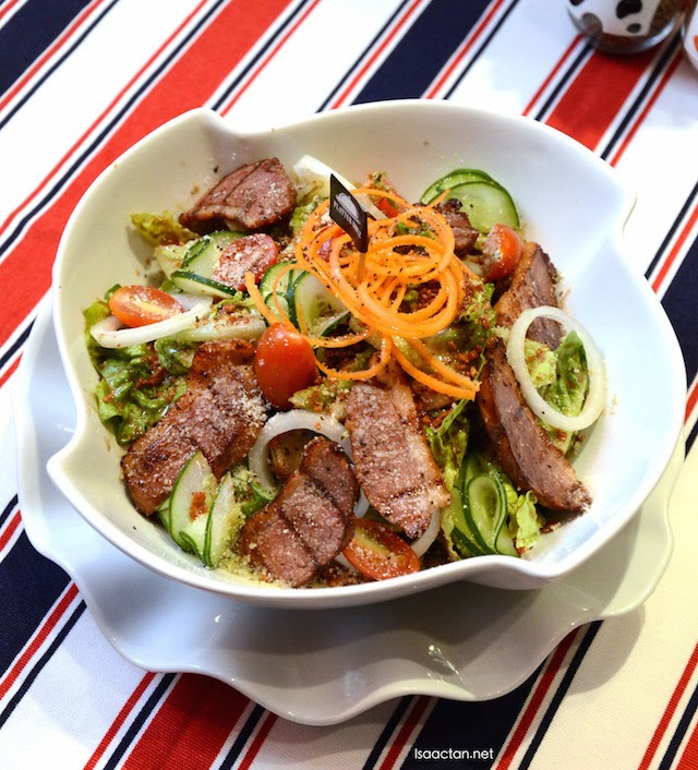 Smoked Duck Breast Salad - RM21.90