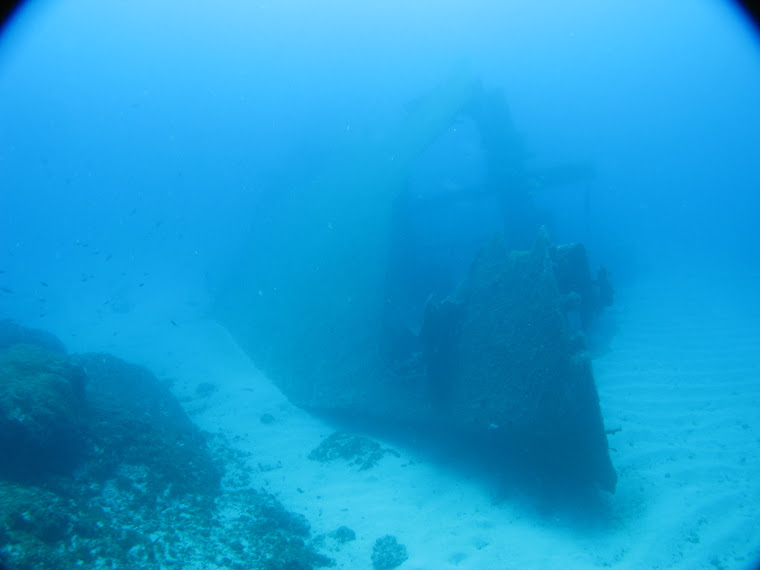Bow of Kyra Leni wreck