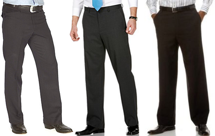 "Hair, Fashion and Beauty: # 3 Man's ""must have"" Dress Pants"