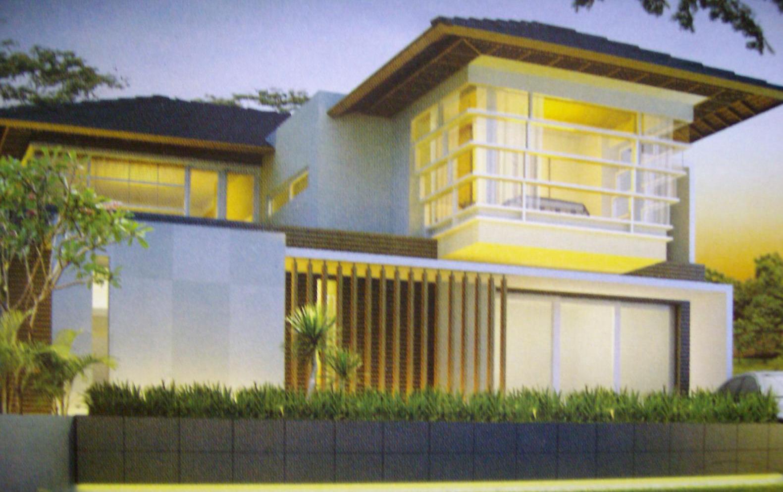 model depan rumah rancangan rumah dan tata ruang